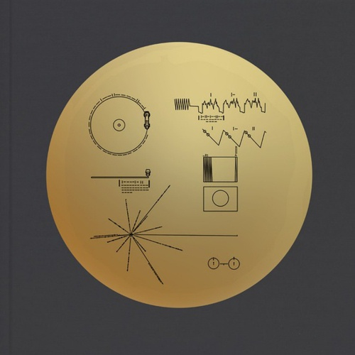 Cover V/A, the voyager golden record