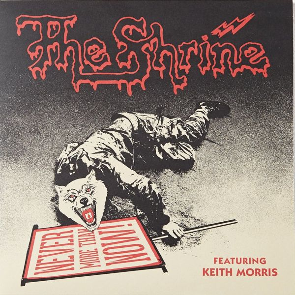 Cover SHRINE (FEAT. KEITH MORRIS), never more than now