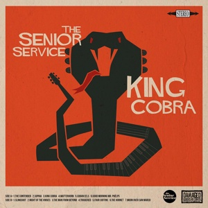 SENIOR SERVICE, king cobra cover