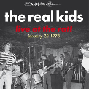 REAL KIDS, live at the rat! cover