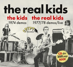 REAL KIDS / THE KIDS, early demos cover