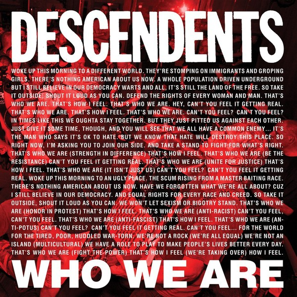 DESCENDENTS, who we are - rsd 2018 cover