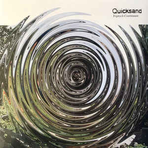 Cover QUICKSAND, triptych continuum (RSD 2018)