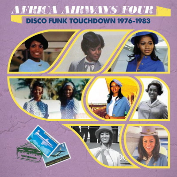 Cover V/A, africa airways 04 (disco funk touchdown)