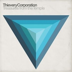 Cover THIEVERY CORPORATION, treasures from the temple