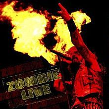 Cover ROB ZOMBIE, zombie live