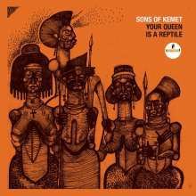 SONS OF KEMET, your queen is a reptile cover