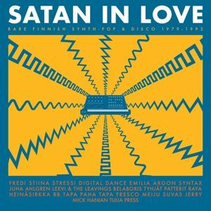 Cover V/A, satan in love - rare  finnish synth-pop & disco