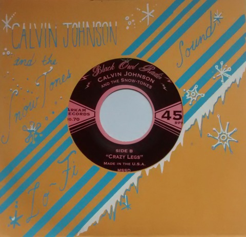 CALVIN JOHNSON AND THE SNOW TONES, pink cadillac cover