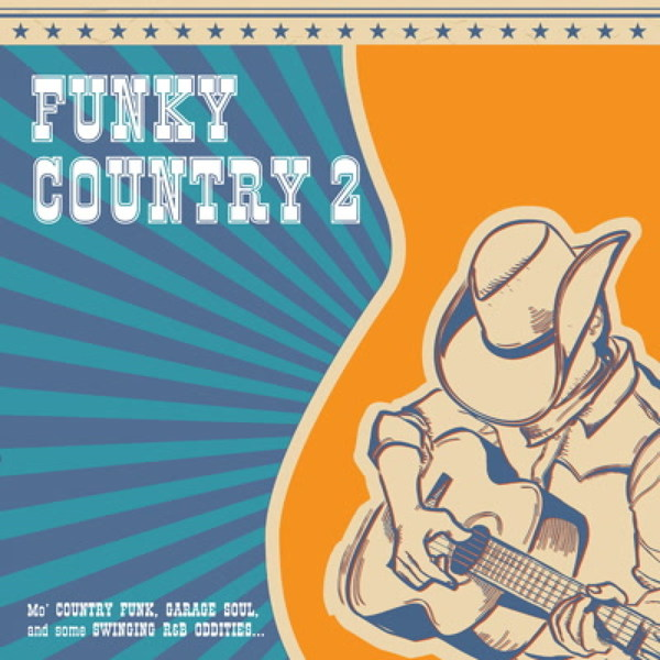 Cover V/A, funky country vol. 2