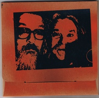 R. STEVIE MOORE & BILLY ANDERSON, split cover