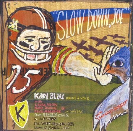 KARL BLAU, slow down joe cover