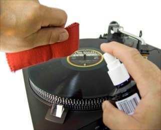 ANALOGIS, schallplatten-reinigungsspray cover