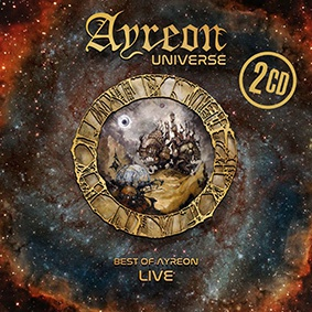 Cover AYREON UNIVERSE, best of ayreon-live