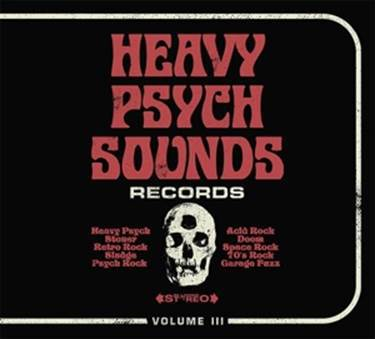 V/A, heavy psych sounds compilation vol.3 cover
