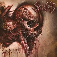 SKINLESS, savagery cover