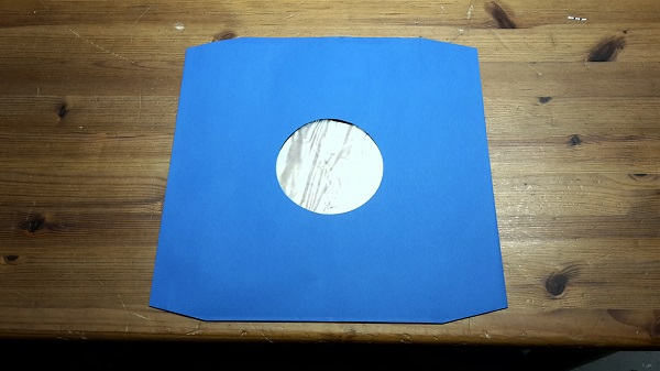 LP Innenhüllen Deluxe, 10er pack_blau cover