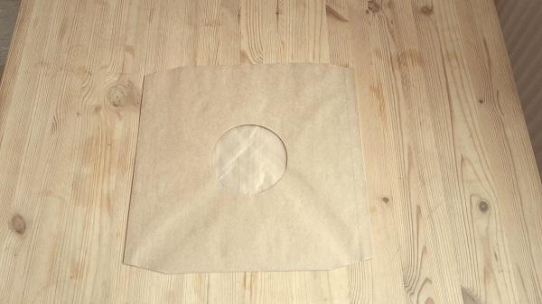 LP Innenhüllen Deluxe, 10er pack_kraftpapier braun cover