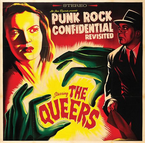 QUEERS, punkrock confidential revisited cover
