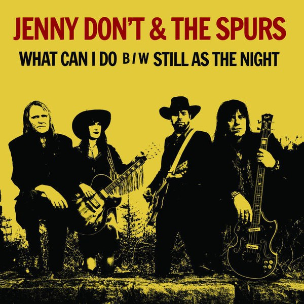 Cover JENNY DON´T & THE SPURS, what can i do/still as the night