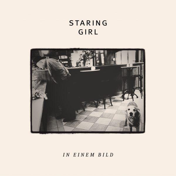 STARING GIRL, in einem bild cover