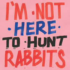 V/A, i´m not here to hunt rabbits cover