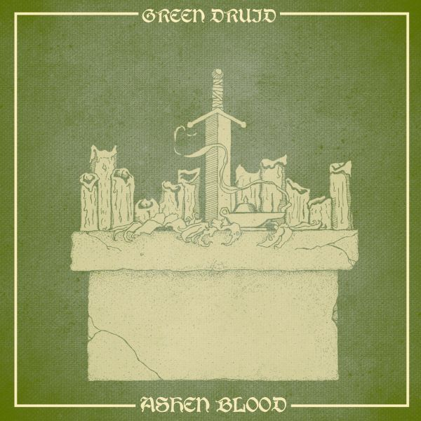 Cover GREEN DRUID, ashen blood