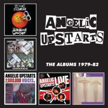 Cover ANGELIC UPSTARTS, the albums 1979-82