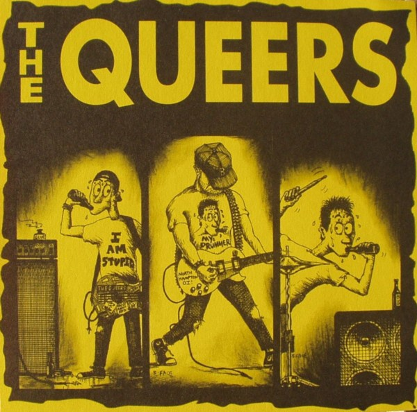 Cover QUEERS, too dumb to quit