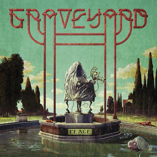 GRAVEYARD, peace (yellow vinyl) cover