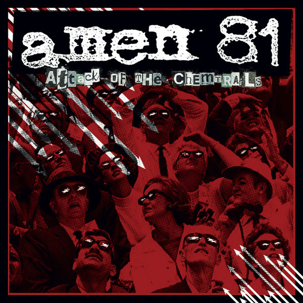 Cover AMEN 81, attack of the chemtrails