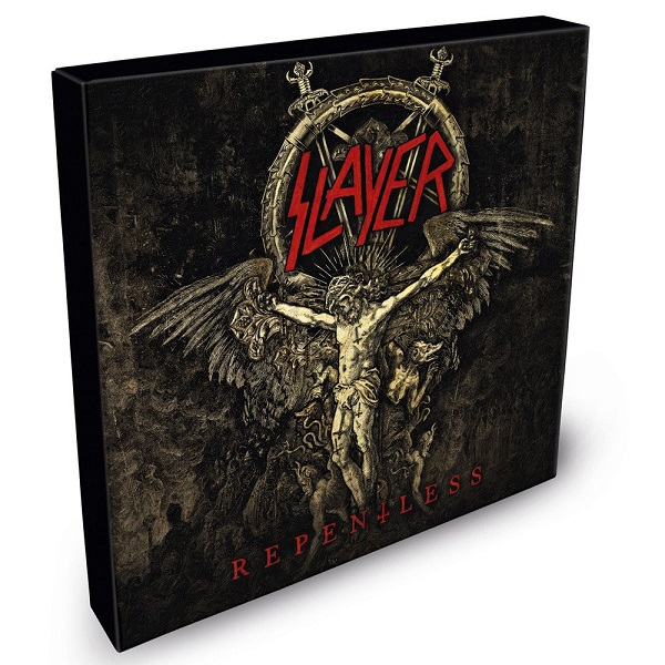 SLAYER, repentless cover