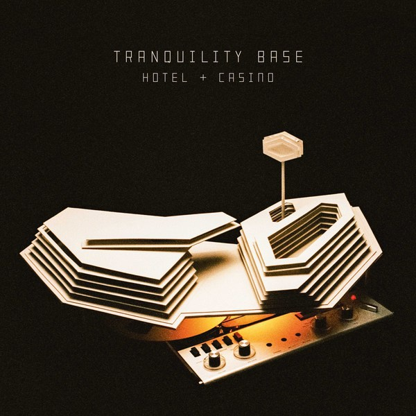 ARCTIC MONKEYS, tranquility base hotel & casino cover