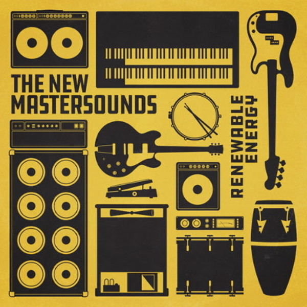 Cover NEW MASTERSOUNDS, renewable energy