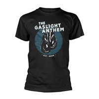 GASLIGHT ANTHEM, boxing gloves (boy) black cover