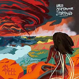 IDRIS ACKAMOOR/PYRAMIDS, an angel fell cover