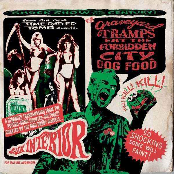 V/A, graveyard tramps eat the forbidden city dog food cover