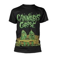 CANNABIS CORPSE, weed dudes (boy) black cover