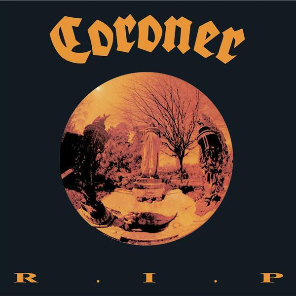 CORONER, r.i.p. cover