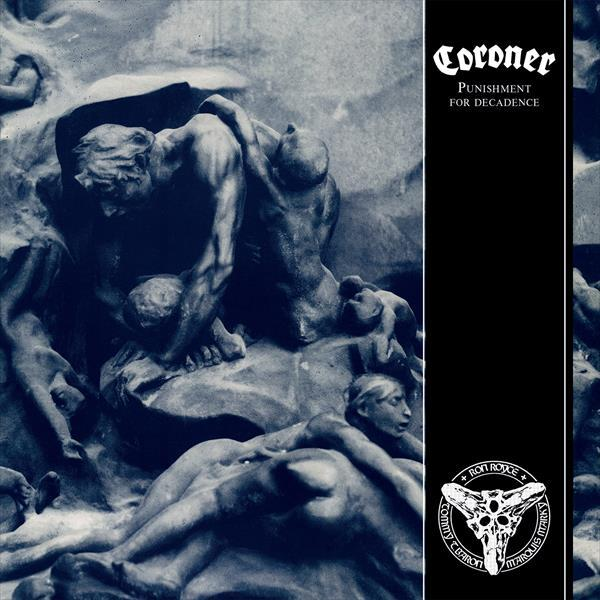 CORONER, punishment for decadence cover