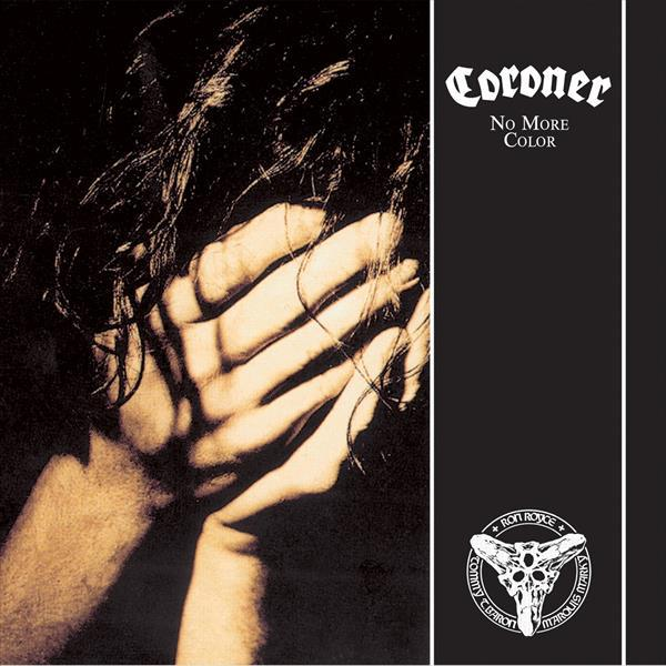 CORONER, no more colour cover