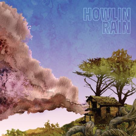 HOWLIN RAIN, s/t cover