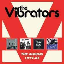 VIBRATORS, the albums 1979-85 cover