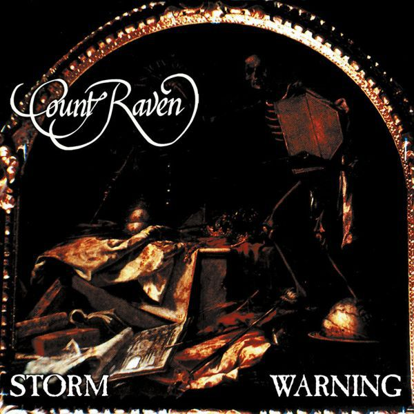 Cover COUNT RAVEN, storm warning