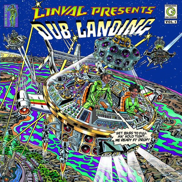 Cover LINVAL THOMPSON, presents dub landing vol. 1