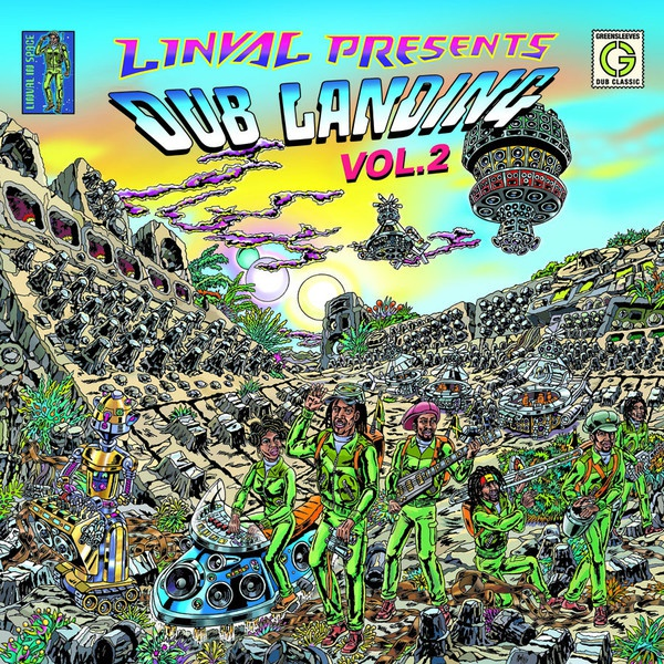 Cover LINVAL THOMPSON, presents dub landing vol. 2