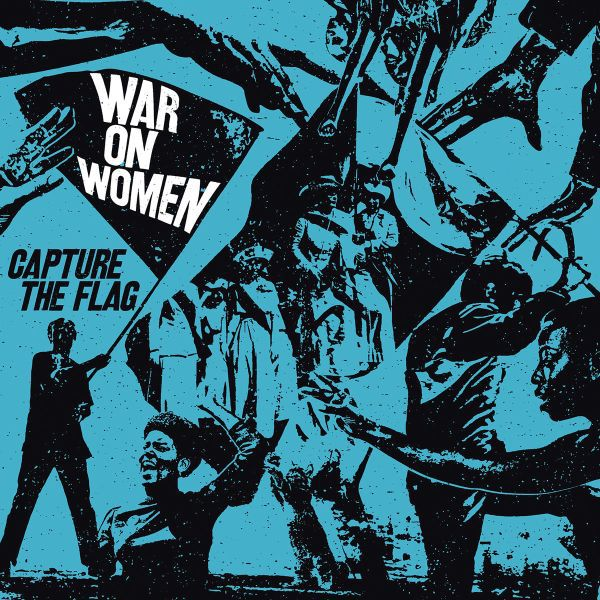 WAR ON WOMEN, capture the flag cover