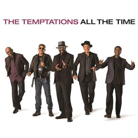 TEMPTATIONS, all the time cover
