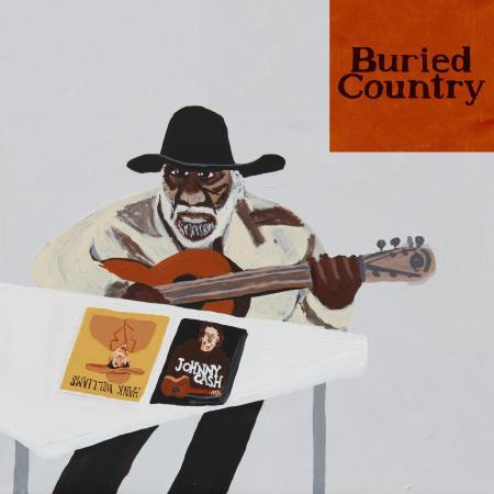 Cover V/A, buried country