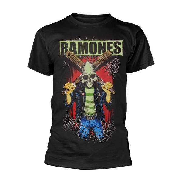 Cover RAMONES, gabba gabba hey pinhead (boy) black